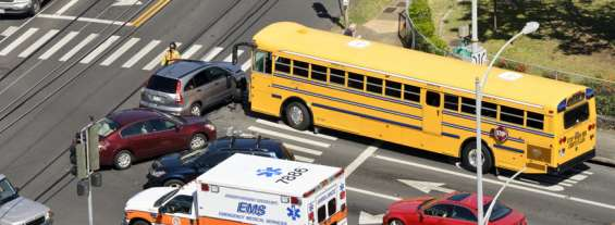 Back to School: Who's Liable for a School Bus Accident?