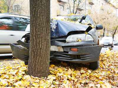 Single Car Crash Injury Lawyers