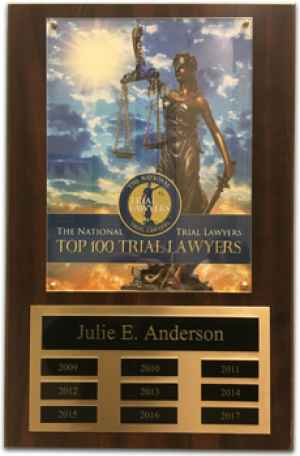 Julie Anderson - Top 100 Trial Lawyers